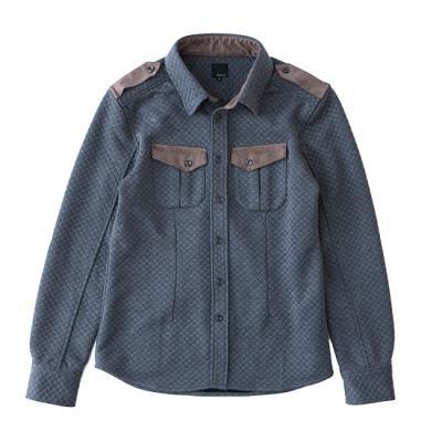 シャツジャケット(キルトシャツ)